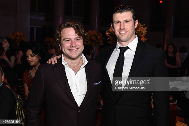 Zachary Pym Williams and Matthew Reeve attend The Christopher Dana Reeve Foundation 25th Anniversary A Magical Evening Gala on November 19 2015 in...