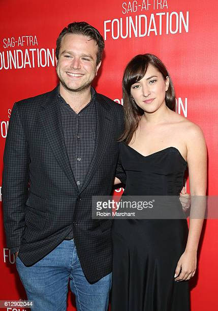 Zachary Pym Williams and Zelda Williams attend The Grand Opening Of SAGAFTRA Foundation's Robin Williams Center on October 5 2016 in New York City