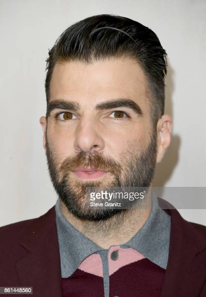 Zachary Quinto at Bottega Veneta Hosts Hammer Museum Gala In The Garden on October 14 2017 in Westwood California