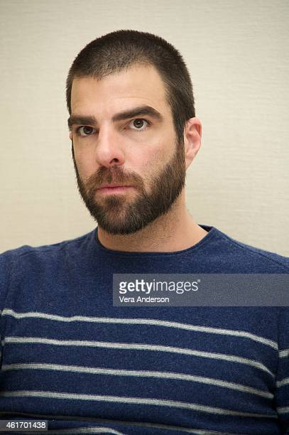 Zachary Quinto at 'The Slap' Press Conference at the Four Seasons Hotel on January 16 2015 in Beverly Hills California