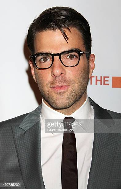 Zachary Quinto attends 2014 'TrevorLIVE NY' Benefit at Marriott Marquis Hotel on June 16 2014 in New York City