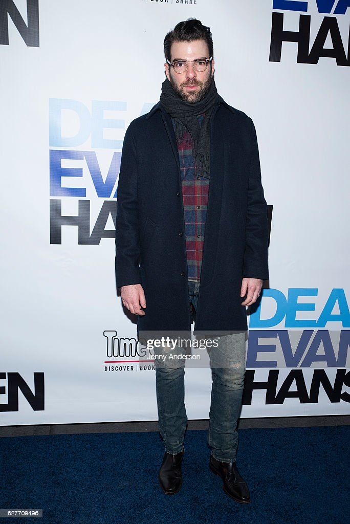 """Dear Evan Hansen"" Broadway Opening Night - Arrivals & Curtain Call"