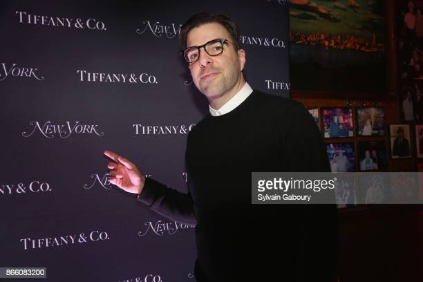 Zachary Quinto attends New York Magazine's 50th Anniversary Celebration at Katz's Delicatessen on October 24 2017 in New York City