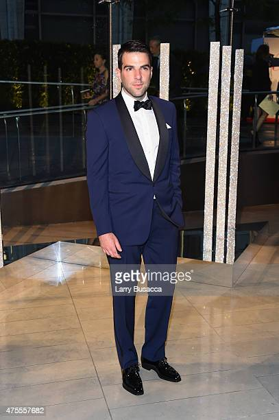 Zachary Quinto attends the 2015 CFDA Fashion Awards at Alice Tully Hall at Lincoln Center on June 1 2015 in New York City