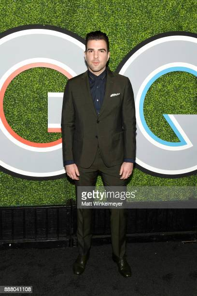 Zachary Quinto attends the 2017 GQ Men of the Year party at Chateau Marmont on December 7 2017 in Los Angeles California