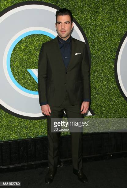 Zachary Quinto attends the 2017 GQ Men of The Year Party on December 07 2017 in Los Angeles California