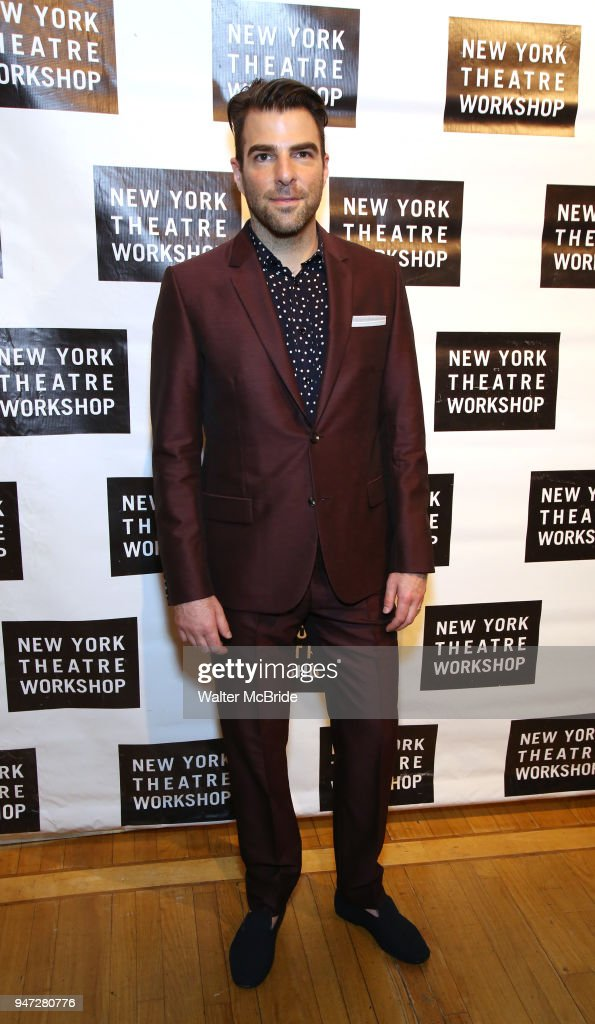 Zachary Quinto attends the 2018 New York Theatre Workshop Gala at the The Altman Building on April 16, 2018 in New York City.