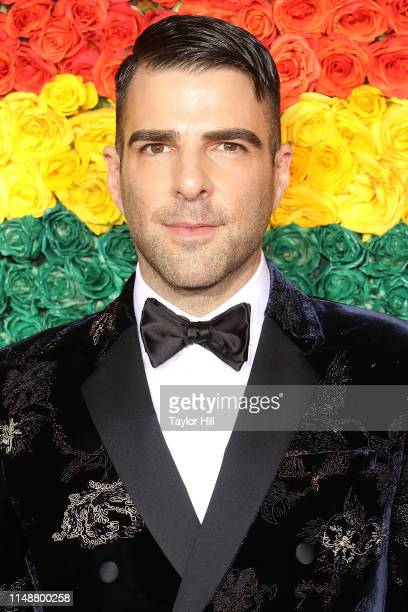 Zachary Quinto attends the 2019 Tony Awards at Radio City Music Hall on June 9 2019 in New York City