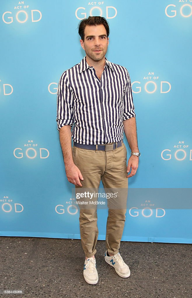 """An Act Of God"" Opening Night"