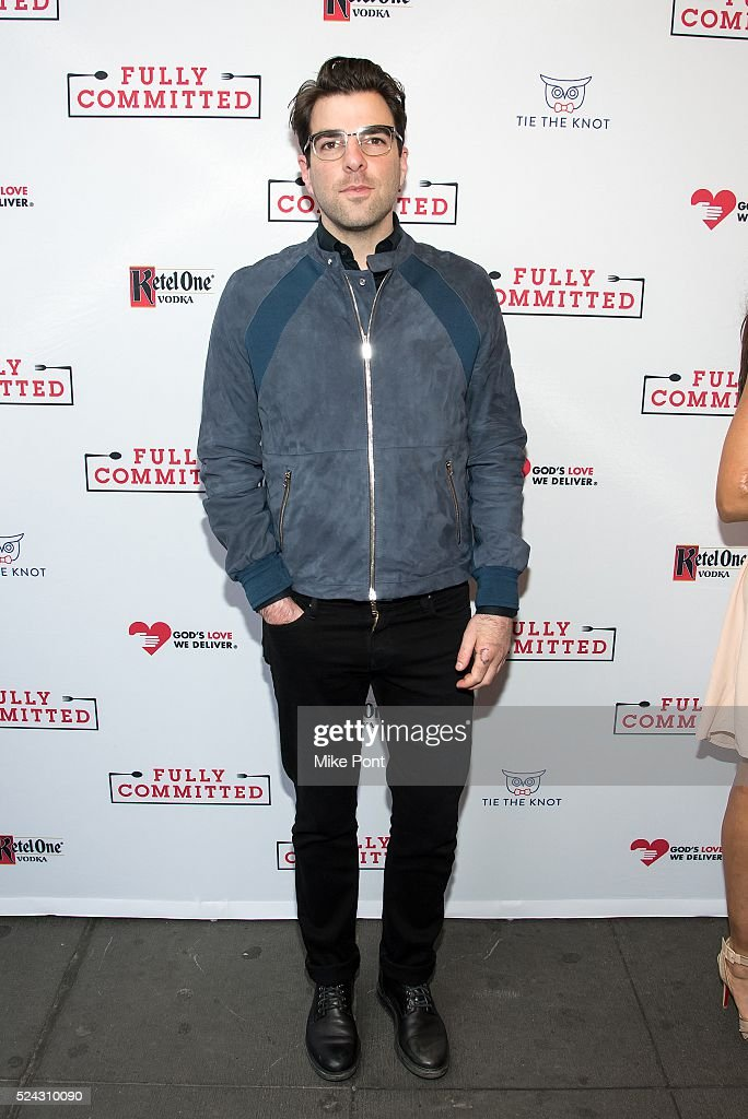 """""""Fully Committed"""" Broadway Opening Night - Arrivals & Curtain Call"""