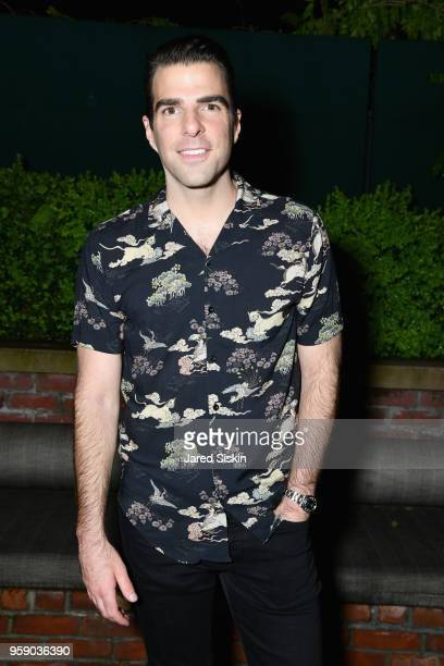 Zachary Quinto attends the Gersh Upfronts Party 2018 at The Bowery Hotel on May 15 2018 in New York City