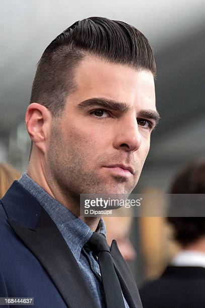 Zachary Quinto attends the Star Trek Into Darkness screening at AMC Loews Lincoln Square on May 9 2013 in New York City