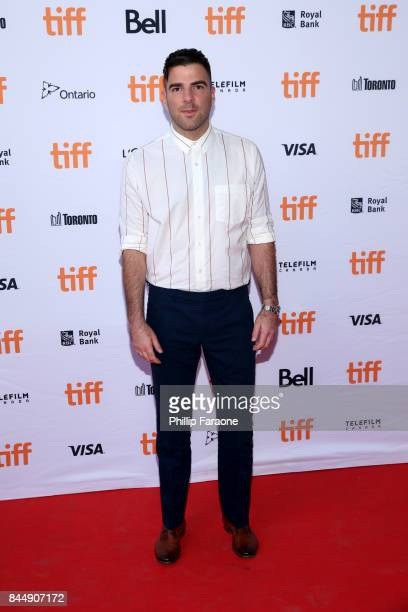 Zachary Quinto attends the Who We Are Now premiere during the 2017 Toronto International Film Festival at Ryerson Theatre on September 9 2017 in...