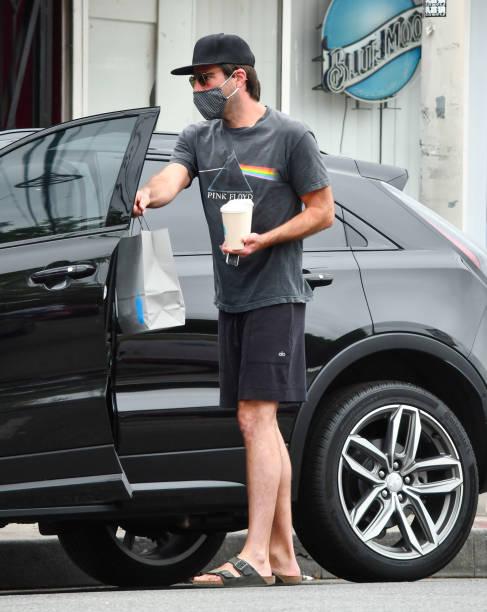 CA: Celebrity Sightings In Los Angeles - August 06, 2020