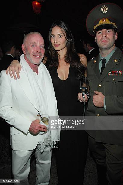 Zachary Selig Amanda Braun and Tim Tracy attend VIVA JAMES BOND HOLIDAY PARTY at Buffalo Club on December 18 2008 in Santa Monica CA