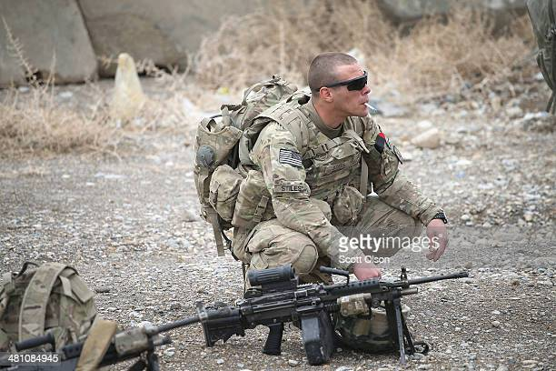 Zachary Stiles from Greer South Carolina with the US Army's 2nd Battalion 87th Infantry Regiment 3rd Brigade Combat Team 10th Mountain Division...