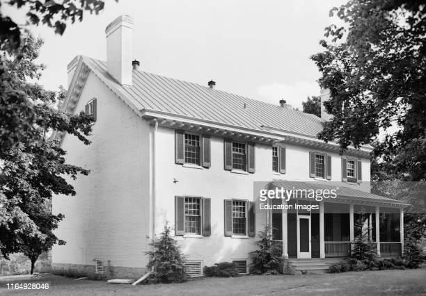 Zachary Taylor House 5608 Pache Road formerly Blankenbaker Lane Saint Matthews Jefferson County Kentucky USA 1933