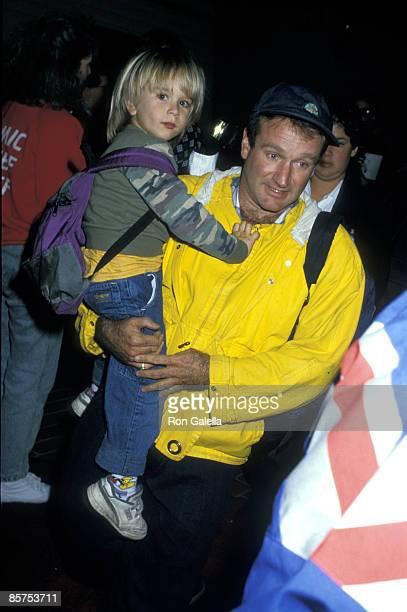 Zachary Williams and Robin Williams