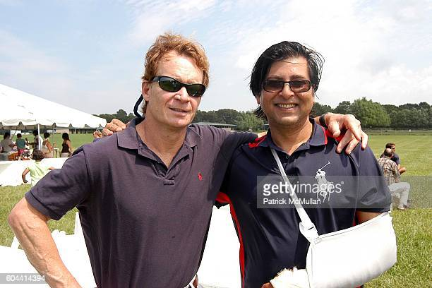 Zack Bacon and Ashwan Khanna attend A Taste of Polo at the Hennessey Polo Cup II to Benefit the TerraNova Foundation at Watermill on August 20 2006...
