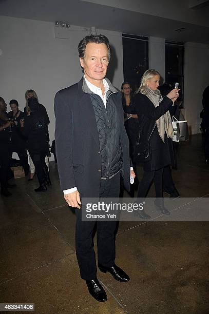 Zack Bacon attends HANLEY MELLON Fall/Winter 2015 Collection Presentation at Hudson Mercantile on February 12 2015 in New York City