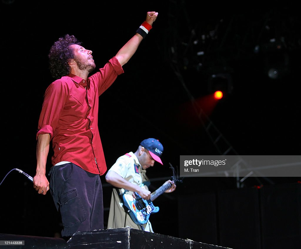 Coachella Valley Music and Arts Festival - Day 3 - Rage Against The Machine