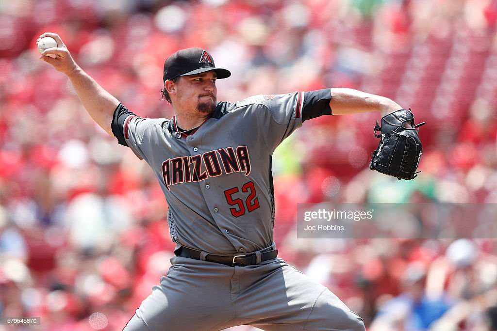 Arizona Diamondbacks v Cincinnati Reds : News Photo