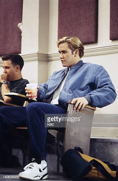 YEARS 'Zack Lies Videotape' Episode 3 Air Date Pictured MarkPaul Gosselaar as Zack Morris Photo by Monty Brinton/NBCU Photo Bank