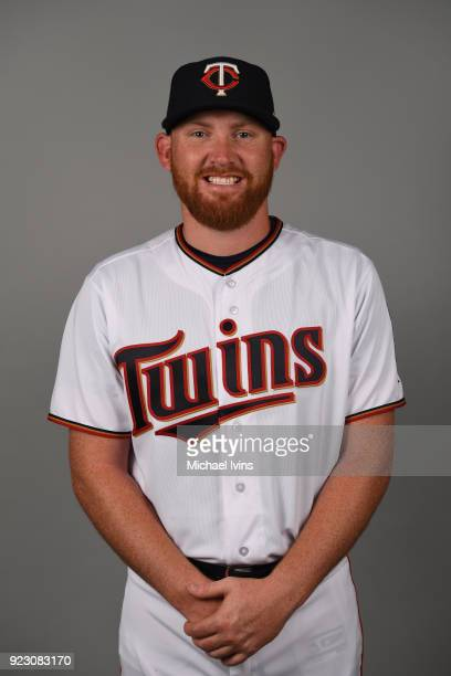 Zack Littell of the Minnesota Twins poses during Photo Day on Wednesday February 21 2018 at CenturyLink Sports Complex in Fort Myers Florida