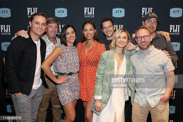 Zack Lively Lloyd Segan Tiffany Dupont Amber Stevens West Jacob Zachar Spencer Grammer Patrick Sean Smith and Shawn Piller attend the Greek Reunion...