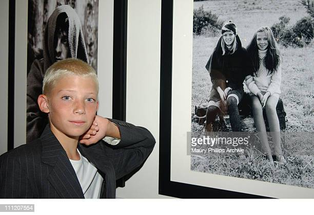 Zack Peck son of Model Cheryl Tiegs during Reception Celebrating The Opening of Imaging and Imagining The Film World of Pat York at Academy of Motion...