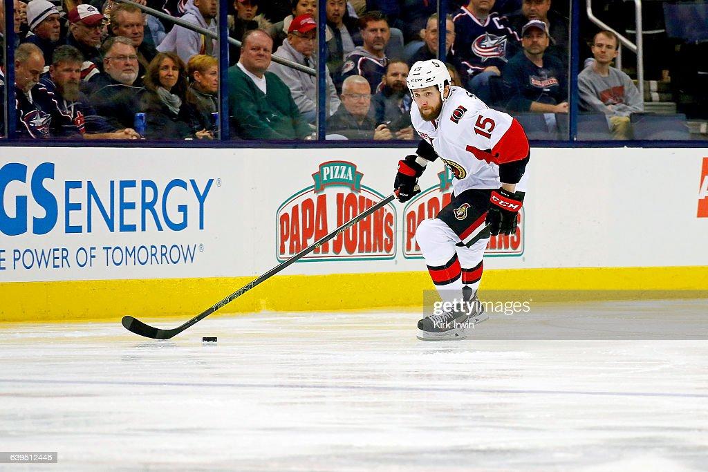 Ottawa Senators v Columbus Blue Jackets : News Photo