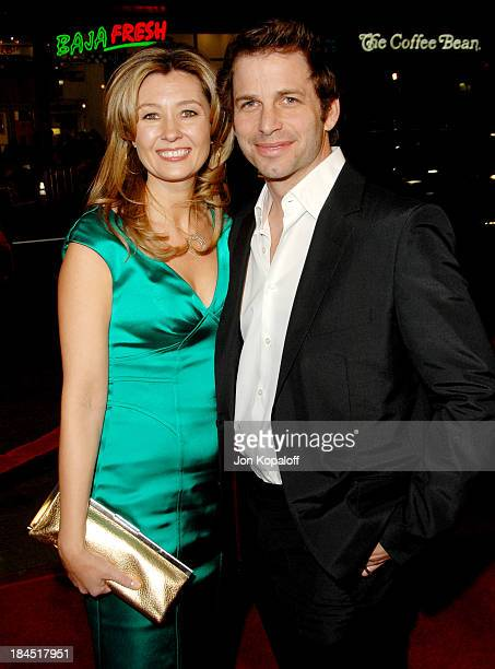 Zack Snyder director and wife Deborah Snyder