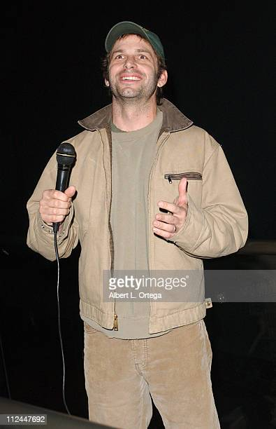 """Zack Snyder, director during 2007 WonderCon Presents Screening of Warner Bros.' """"300"""" at Critereon AMC Theaters in San Francisco, CA, United States."""