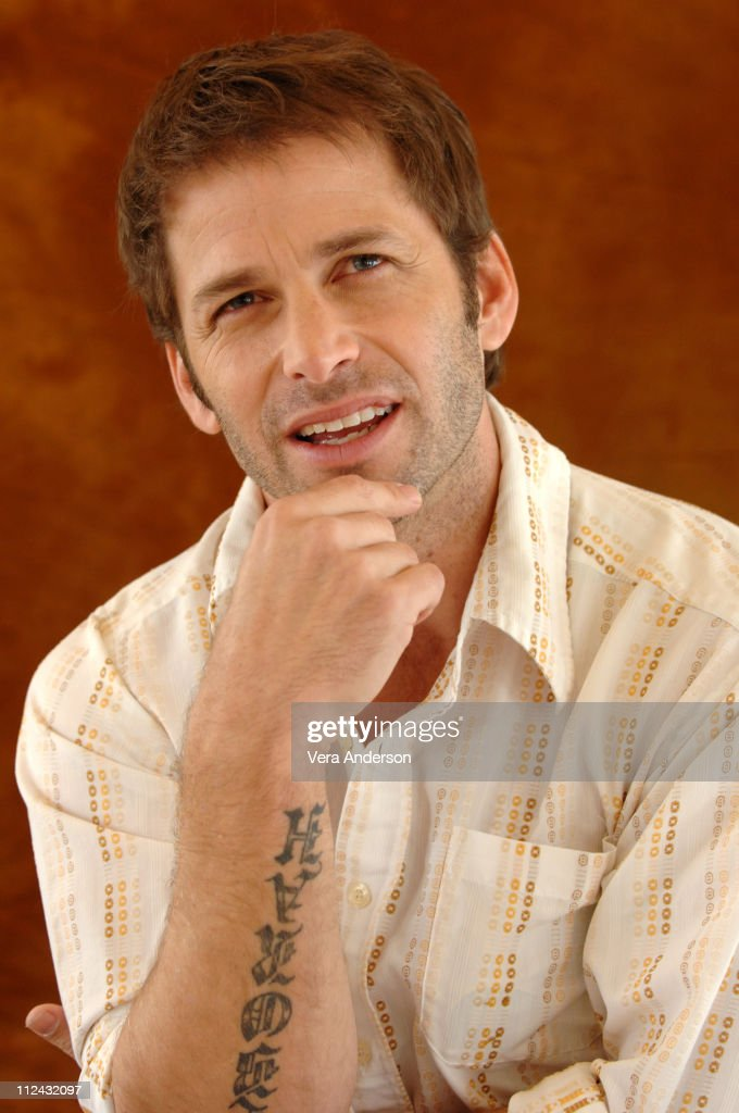 Zack Snyder during '300' Press Conference with Gerard Butler, Rodrigo Santoro, Frank Miller and Zack Snyder at Beverly Hilton Hotel in Beverly Hills, California, United States.