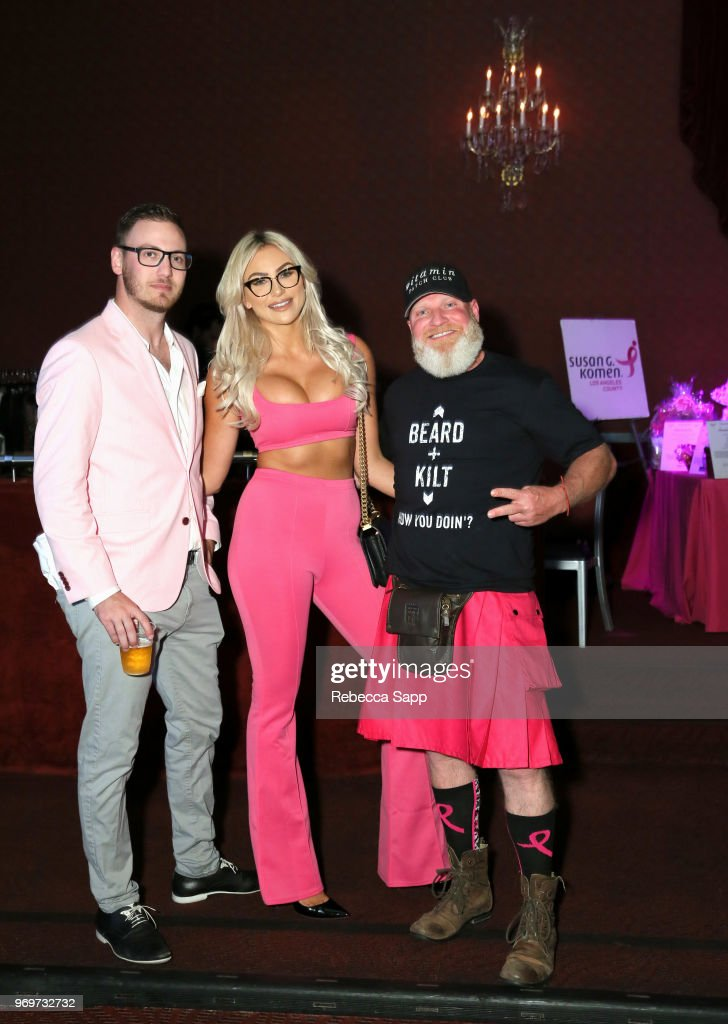 Babes for Boobs Live Auction Benefiting Susan G. Komen LA (#BBAUCTION) : News Photo