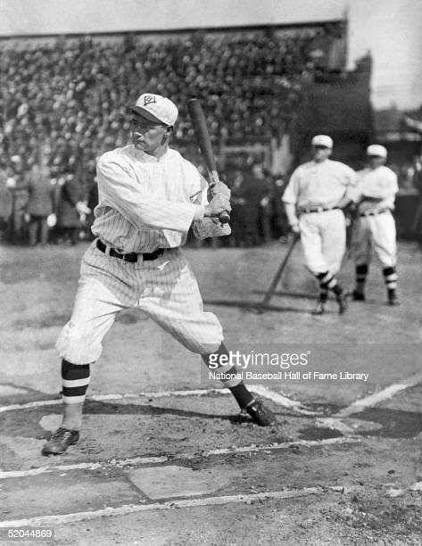 Zack Wheat steps into the swing during a circa 1918 season game Zachary Davis Wheat played for the Brooklyn Superbas from 1909 1910 Brooklyn Dodgers...