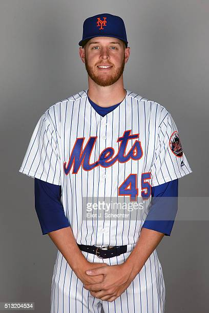Zack Wheeler of the New York Mets poses during Photo Day on Tuesday March 1 2016 at Tradition Field in Port St Lucie Florida