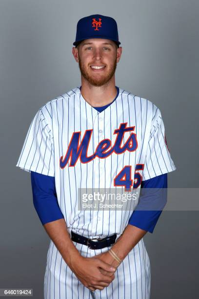 Zack Wheeler of the New York Mets poses during Photo Day on Wednesday February 22 2017 at Tradition Field in Port St Lucie Florida