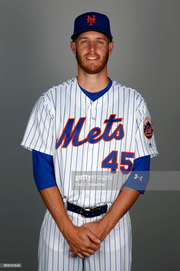Zack Wheeler #45 of the New York Mets poses during Photo Day on Wednesday, February 21, 2017 at Tradition Field in Port St. Lucie, Florida.