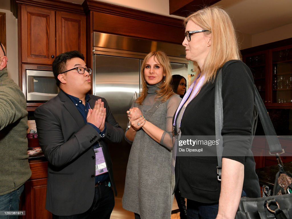 "It Gets Better House Hosts Happy Hour Celebrating ""Disclosure: Trans Lives On Screen"" : News Photo"