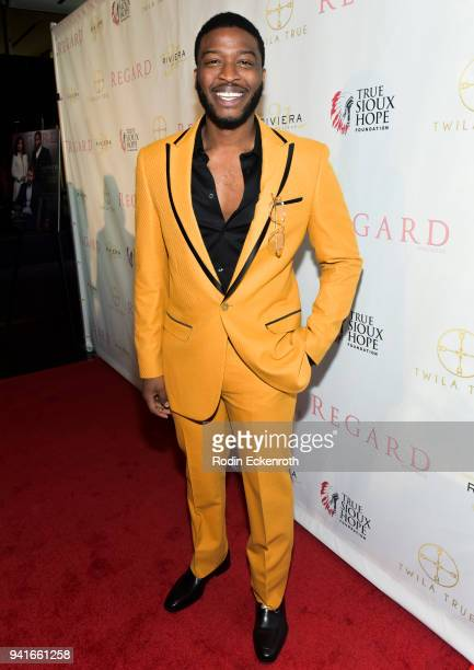 Zackary Momoh attends Regard Magazine Spring 2018 Cover Unveiling Party presented by Sony Studios featuring the cast of 'The Oath' on Crackle at...