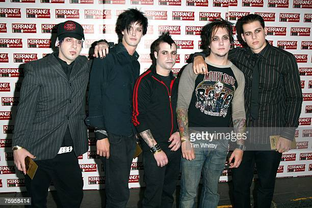 Zacky Vengeance The Rev Johnny Christ Synyster Gates and M Shadows of Avenged Sevenfold