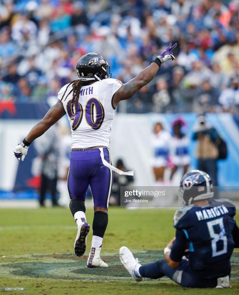 Baltimore Ravens v Tennessee Titans : Nachrichtenfoto