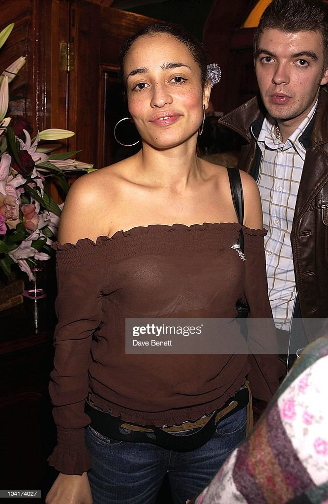 Zadie Smith And Friends, The Premiere Of New American Movie 'The Royal Tenenbaums' At The Ucg Haymarket ,and The Party At 23 Craven St, London