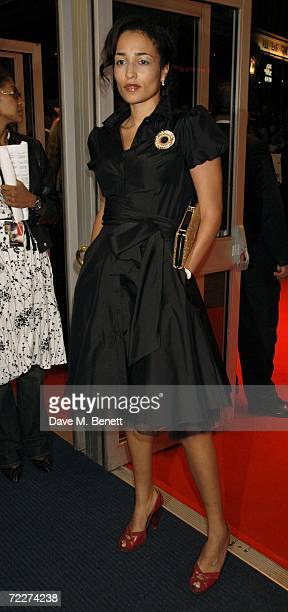 """Zadie Smith attends the premiere of the movie """"Bobby"""" held at the Odeon West End on October 26, 2006 in London, England."""