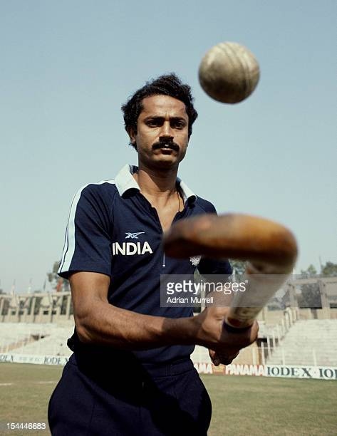 Zafar Iqbal of India and captain of the Indian national hockey team on 1st December 1983 at the National Hockey Stadium in New Delhi India