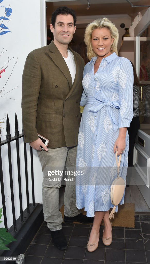 Zafar Rushdie and Natlie Rushdie attend the Beulah London store opening on May 16, 2018 in London, England.
