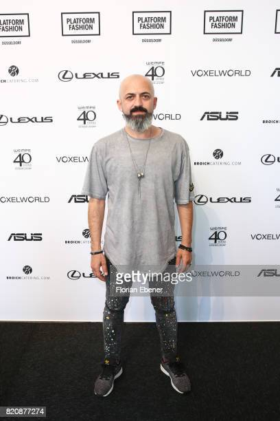 Zafer Demirkol attends the 3D Fashion Presented By Lexus/Voxelworld show during Platform Fashion July 2017 at Areal Boehler on July 22, 2017 in...