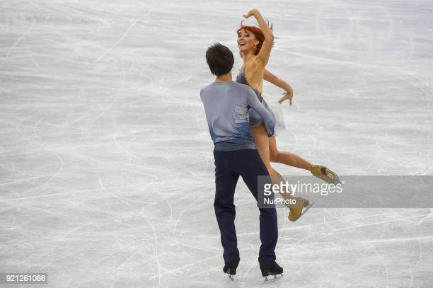 Zagorski Tiffani and Guerreiro Jonathan of Russia competing in free dance at Gangneung Ice Arena Gangneung South Korea on February 20 2018