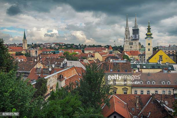 Zagreb and Clouds